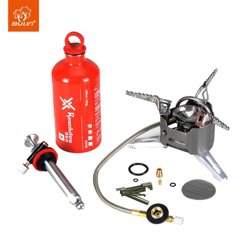 Bulin Olio Dual Purpose Stufa A Gas Da Campeggio Multifunzione Cottura Mini Stufa Antivento BL100-T3