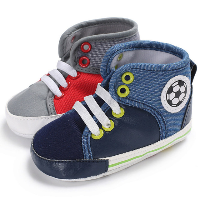 8d6216ad508b New Cartoon Football Sport Shoes Girl Boy Brand Children s Sneakers Toddler  First Walkers Newborn Baby Casual Lace-Up Baby Shoes