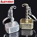 Kayme фильм Starworld тор молот quake автомобиль Брелки брелоки держатель автомобиль сплава металла подвеска брелок для сувенирных подарков