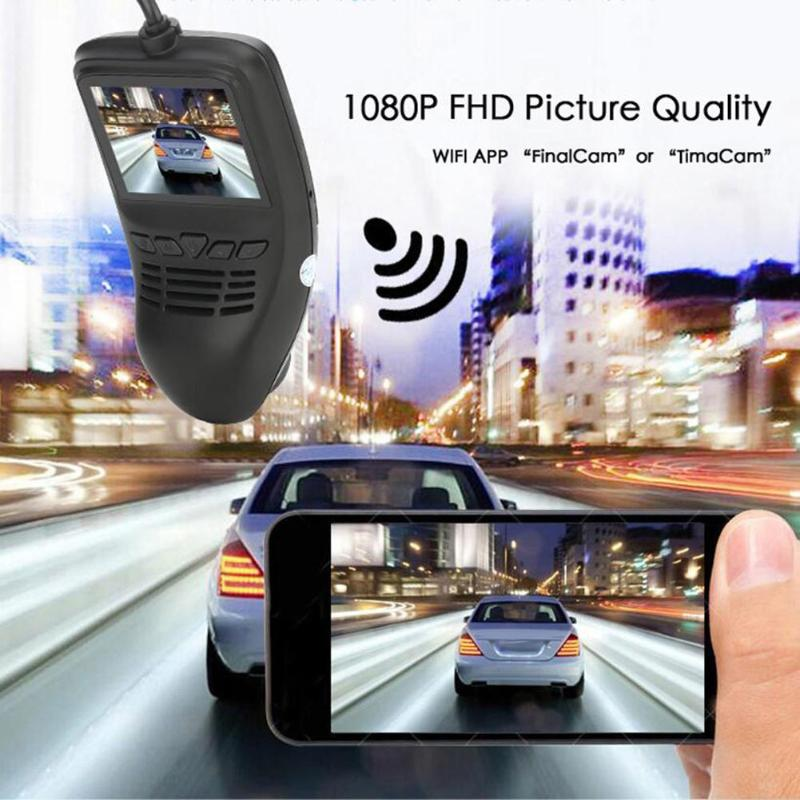 все цены на 2inch LCD WiFi 1080P FHD Car DVR Camera Dual Lens Video Recorder G-sensor Night Vision Dash Cam Car Accessories онлайн