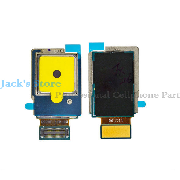 New Rear Back <font><b>Camera</b></font> Flex for <font><b>Samsung</b></font> Galaxy <font><b>S6</b></font> Edge G925 Big <font><b>Camera</b></font> <font><b>Module</b></font> Replacement image