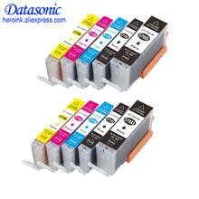 DAT 10PCS For Canon 570 571 PGI-570 CLI-571 Compatible Ink Cartridge PIXMA G5752/MGMG5750/MG5751/M5753/MG6850/MG6851