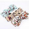 Banda para la cabeza de moda tiara infantil para los recién nacidos elástico elásticos de la venda de los bebés del estilo coreano lindo hair bows