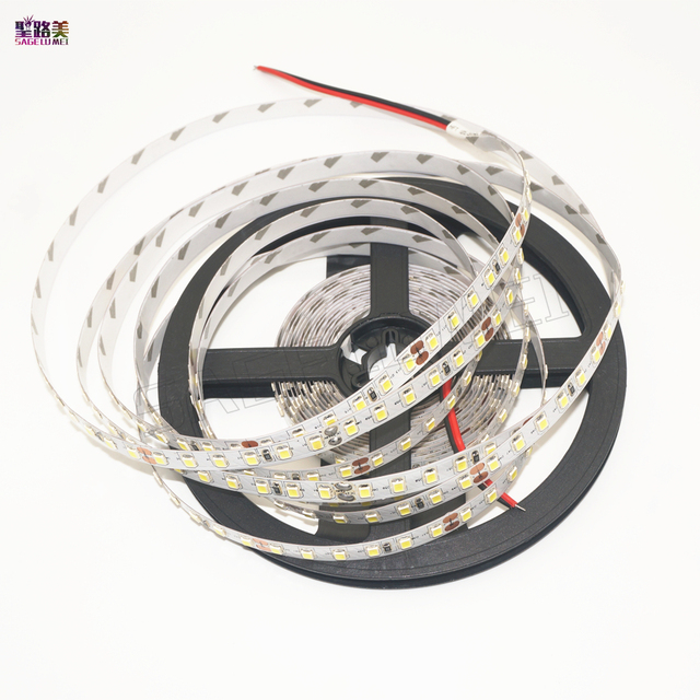 5m 600leds LED strip 3528 light smd led ribbon white/warm white/blue/green/red/yellow luminaria led 12v 120leds/m tape flexible
