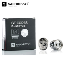 30pcs Electronic Vape Vaporesso NRG Tank GT Coil GT2 GT4 GT6 GT8 GT cCELL Replacement Core for Revenger Kit and TFV8 Baby Tank