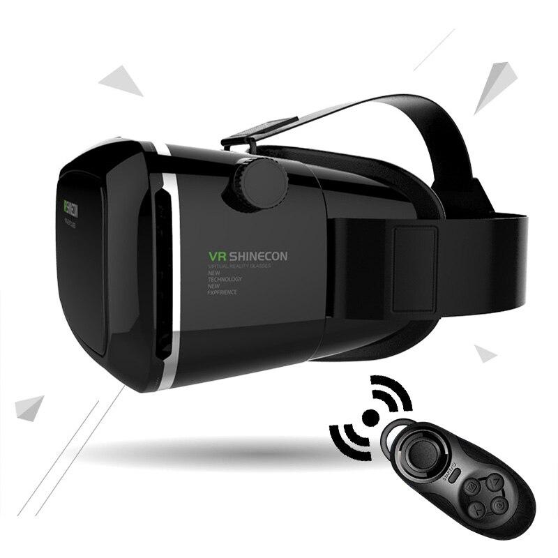 100% original <font><b>VR</b></font> SHINECON <font><b>Virtual</b></font> <font><b>Reality</b></font> 3D <font><b>Glasses</b></font> <font><b>Helmet</b></font> <font><b>VR</b></font> <font><b>BOX</b></font> Headset For Smartphone 3.5 inch ~ 6 inch with Retail Package