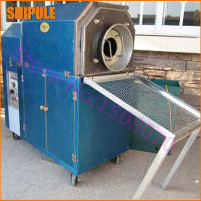 SHIPULE 2017 new technology stainless steel commercial peanut roasting machine industrial peanut roaster for sale цена и фото