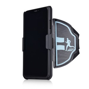 Image 5 - スポーツケース腕章 iphone 11 pro x xr xs 最大カバー運動電話ホルダーアームバンドキックスタンドバックケースシェル
