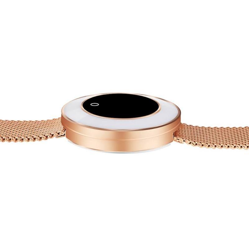 Montre intelligente femmes IP68 étanche surveillance de la fréquence cardiaque pression artérielle dame Smartwatch Fitness Tracker Bracelet - 4