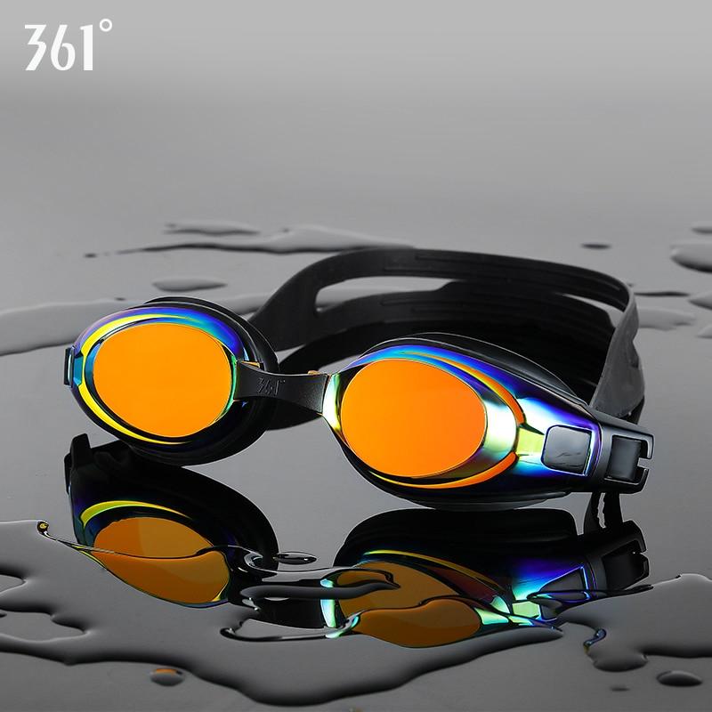 361 Professional Swimming Glasses Unisex Pool Swim Glasses Anti Fog Swim Goggles Silicone Waterproof Clear Lens Swim Eyewear