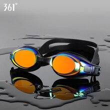 361 Professional Swimming Glasses Unisex Pool Swim Anti Fog Goggles Silicone Waterproof Clear Lens Eyewear