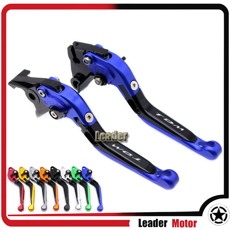 For <font><b>YAMAHA</b></font> <font><b>TDM</b></font> <font><b>900</b></font> 2002 TDM900 <font><b>2003</b></font> 2004 motorcycle accessories folding extendable brake clutch levers image