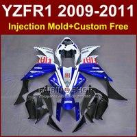 FIAT части тела Мотоцикла для YAMAHA обтекатели YZFR1 2009 2010 2011 инъекции YZF1000 R1 YZFR1 09 10 11 12 R1 кузова + 7 Подарки