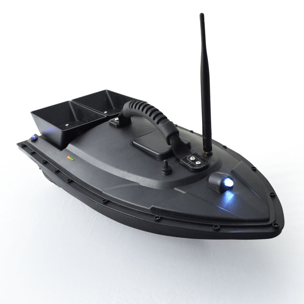 Smart Fishing Bait Boat 500m Remote Control Fish Finder Boat 1.5kg Loading RC Boat Ship Speedboat with Double Motors Hot mini fast electric fishing bait boat 300m remote control 500g lure fish finder feeder boat usb rechargeable 8hours 9600mah