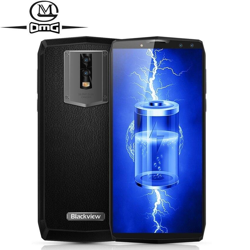 Blackview P10000 PRO 4G Smartphone 11000 mAh batterie 5 V/5A MT6763 Face ID 4 GB + 64 GB 18:9 5.99