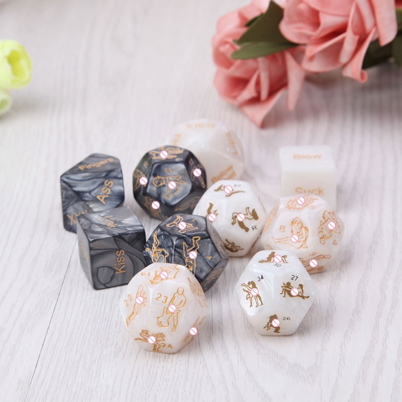 5pcs Sex Dice Fun Adult Humour Game Erotic Love Sexy Posture Bar Toy Couple Gift