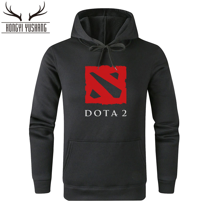2018 Autumn Winter Men's Hoodie Game Dota 2 Hoodies Men Casual Pullover Fleece Hoody Dota2 Sweatshirts Hombre Sudadera W27