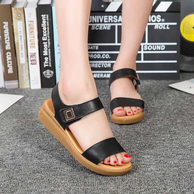4214G womens sandals summer new sandals womens leather hollow increased4214G womens sandals summer new sandals womens leather hollow increased