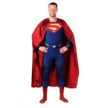 Adult  Carnival Clothing Avenger League Heroes Superman Cosplay Costumes Jumpsuits Zentai Tights Unisex Lycra Halloween Costume