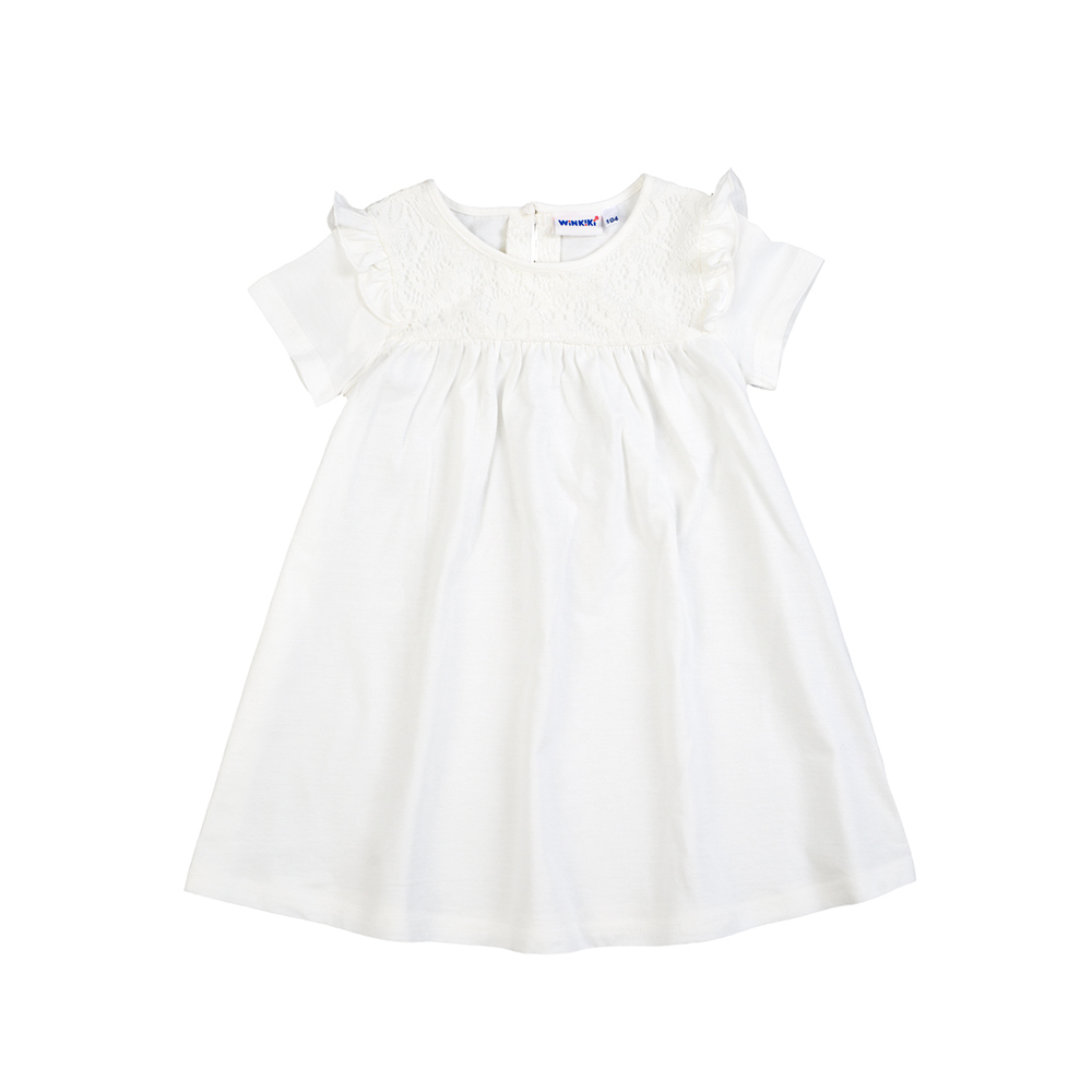 Dresses Winkiki for girls WG81014 Kids Sundress Baby clothing Dress Children clothes summer toddler kids girls dress off shoulder ruffles lace dresses solid white baby girl clothes princess costume 2 7y