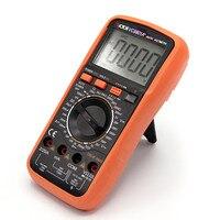 VC9801A+ Digital Multimeter DMM AC/DC Ammeter Voltmeter Ohmmeter w/Capacitance hFE Test & LCD Backligh
