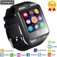 Lestopon 2017 Nuevo reloj Inteligente Smartwatch Pulsera Teléfono android teléfono Bluetooth banda de Fitness Deportivo Wearable Dispositivos DZO9 GT08