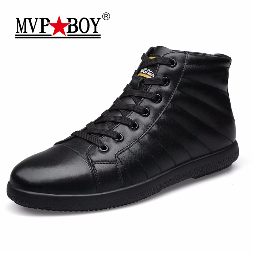 MVP BOY Big Size Men Winter Snow Shoes Man font b Boot b font High Quality