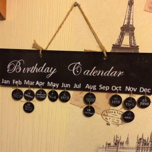 Aliexpresscom Buy Funlife Family Birthday Calendar SignBirthday