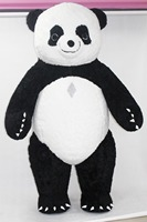 2018 New Inflatable Panda Costume Halloween Cosplay Costume Advertising 2M Tall Customize For Adult Suitable For 1.6m To 1.8m