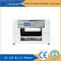 Precio de fábrica de la impresora de etiquetas de inyección de tinta uv digital impresora plana uv de impresión en botella de vidrio