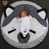 KAMIMI Baby Blanket Koala Print Newborn Infant Soft Sleepping Mat Cotton Soft Baby Climbing Mat Children