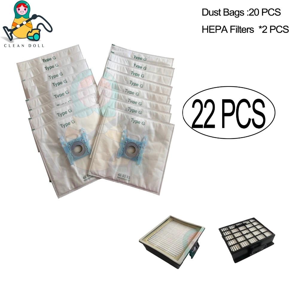 PakTrade Filtro de Hepa para Aspiradoras Bosch BGL 452132