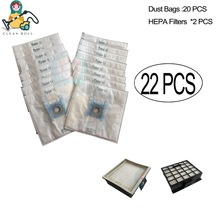 Replacement HEPA filter dust bags for Bosch vacuum cleaner Type G BSG6 GL 30  BSGL4 GL 40 GL30 bags