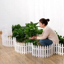 50x29 см/упаковка пластиковый забор для внутреннего двора садовый забор для детского сада цветочный сад растительный небольшой забор Рождественское украшение