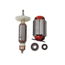 AC220 240V Armatura Rotore statore del motore per Makita smerigliatrice angolare GA GA5030 GA4530 GA4030 GA5034 GA4534 GA4031 GA4030R GA4034
