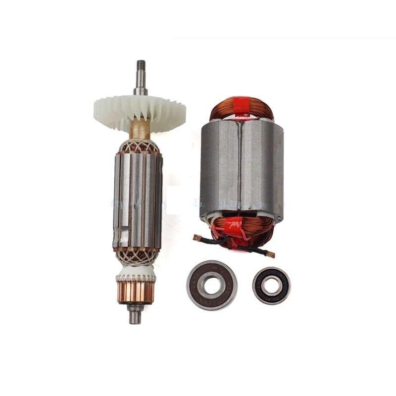 AC220-240V Rotor D'induit stator moteur pour Makita meuleuse d'angle GA GA5030 GA4530 GA4030 GA5034 GA4534 GA4031 GA4030R GA4034