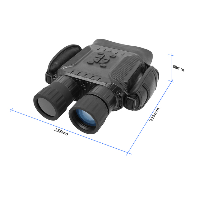 Professional Night Vision 32G IPX4 400m HD IR Camera Photo Video 5x Zoom set time Widescreen Monocular Binoculars for hunting 6