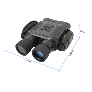 Image 5 - מקצועי ראיית לילה 32G IPX4 400m HD IR מצלמה תמונה וידאו 5x זום סט זמן מסך רחב משקפת משקפת עבור ציד