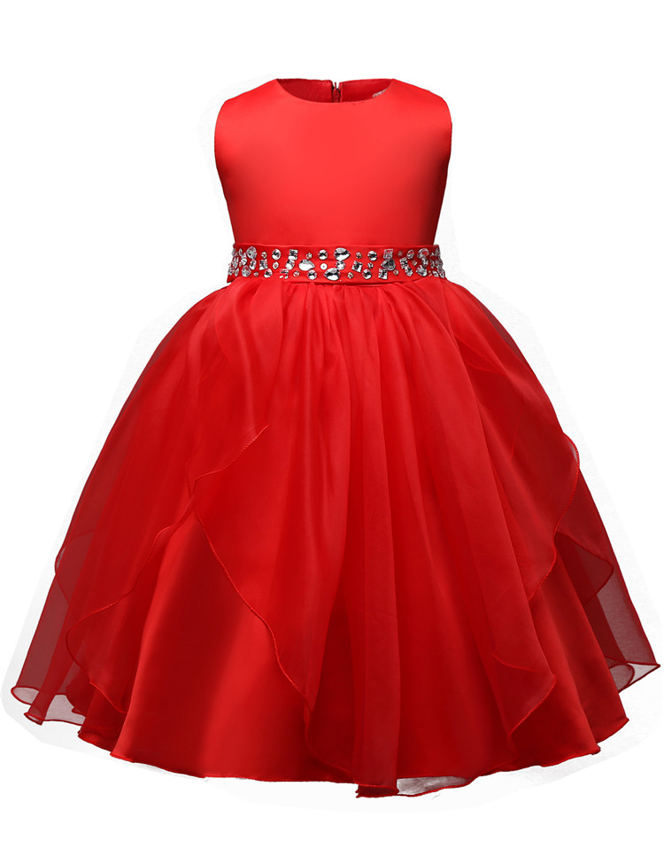 Buy evening party gown dress princess girl dress formal wear 8 9 10