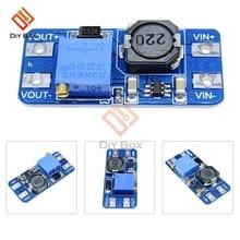 Adjustable 12 В 2A регулируемый Повышающий Модуль преобразователя питания MT3608 усилитель мощности трансформатор повышающий микро USB DIY для Arduino