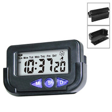 Newly Portable Pocket Sized Digital Electronic Travel Alarm Clock Automotive Stopwatch  Sale