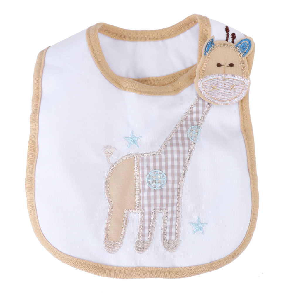 Sensible Sagace Bibs & Burp Cloths Baby Accessories Childrens 3 Layer Waterproof Apron Cute Towel Giraffe 19apl9 Sophisticated Technologies Boys' Baby Clothing