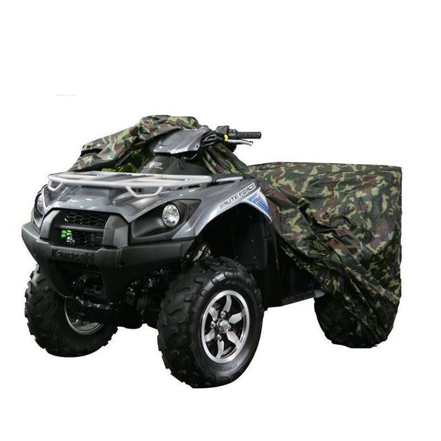 Camouflage Motorcycle ATV Cover XL Large Size Weatherproof Breathable For Suzuki Honda Kawasaki Yamaha Raptor Quad Arctic Cat