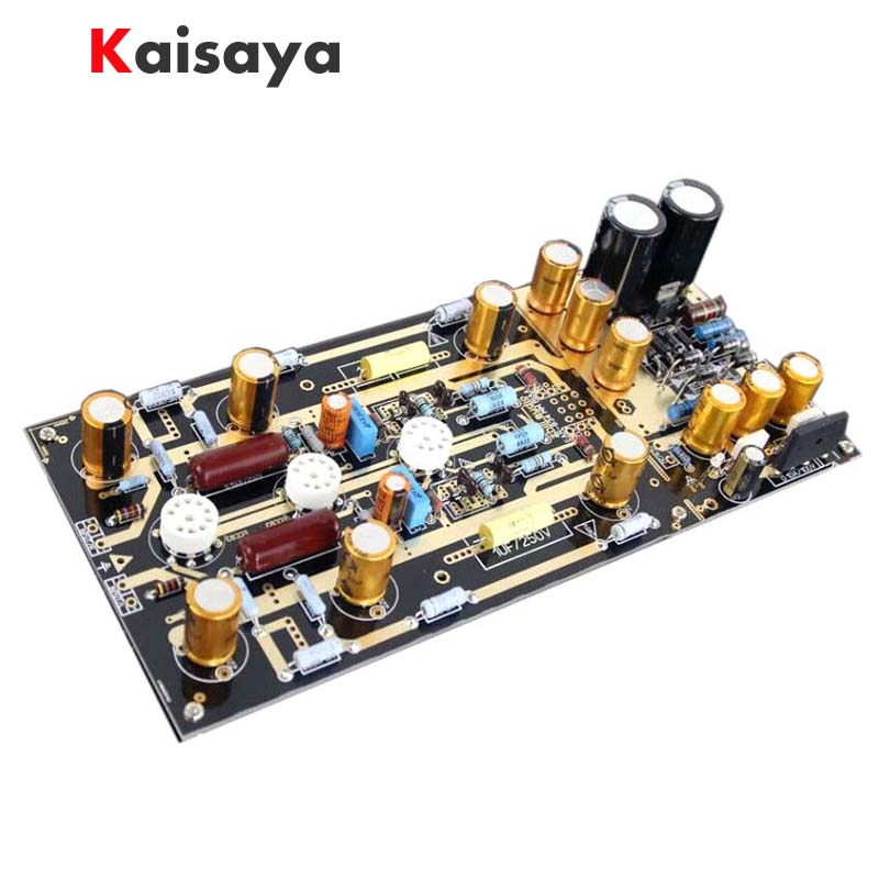 United Kingdom ear834 MM RIAA <font><b>Tube</b></font> Phono <font><b>Amplifier</b></font> Stereo amp DIY KIT Audio HiFi Free shipping D4-006 image
