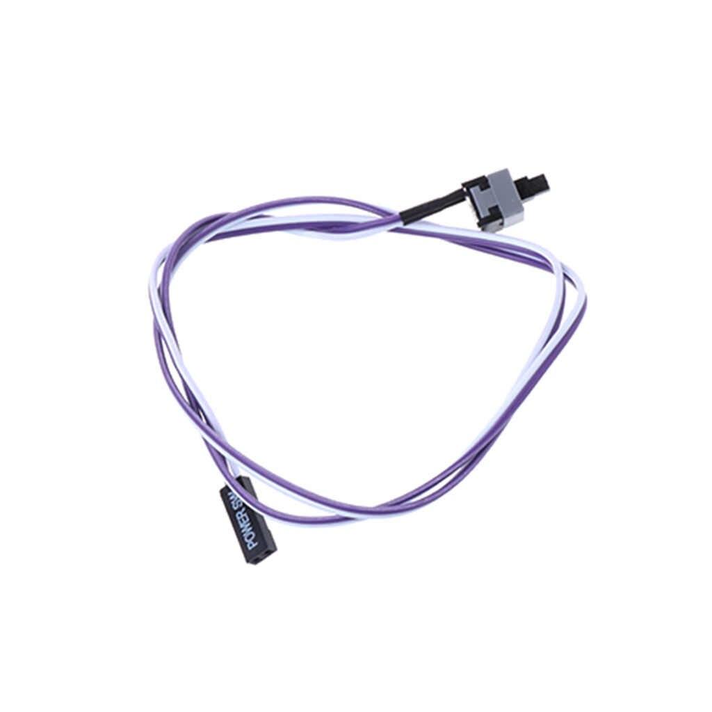 Los komputer stancjonarny pulpit ATX zasilanie resetuj kabel przewód złącze przełącznika Drop Shipping Support