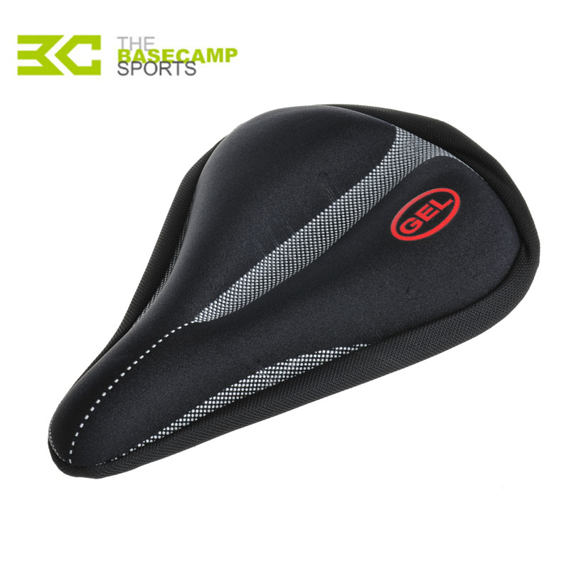 Basecamp New Cycling Bike Saddle Cover Bicycle Seat Cover MTB Seat Cover 3D Gel Seat Cover Bicycle Accessory Black