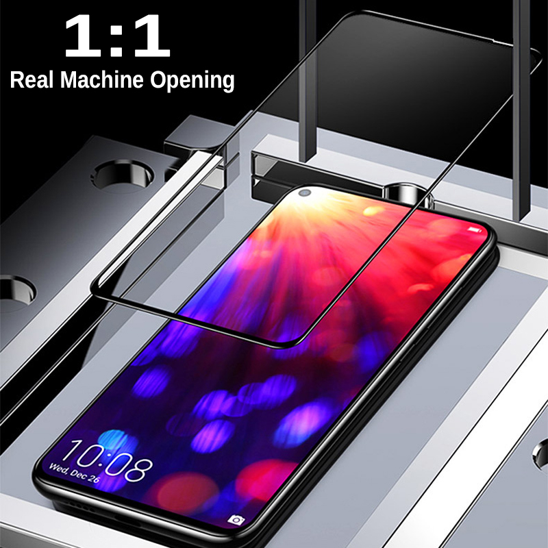 Image 5 - 6D Tempered Glass For Huawei Honor 20 20i Screen Protector Full Cover Safety 9H Protective Glass On Honor View 20 v20 Honor20 i-in Phone Screen Protectors from Cellphones & Telecommunications