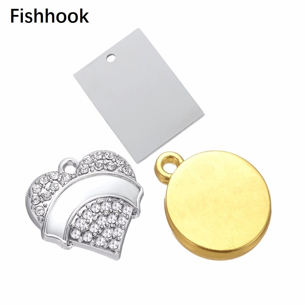 Fishhook Aliexpress Custom Jewelry Customize Engraved Charms DIY and Design