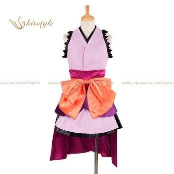 Kisstyle Fashion Unbreakable Machine-Doll Kiko Shojo wa Kizutsukanai Komurasaki Doll Uniform Cosplay Costume,Customized Accepted