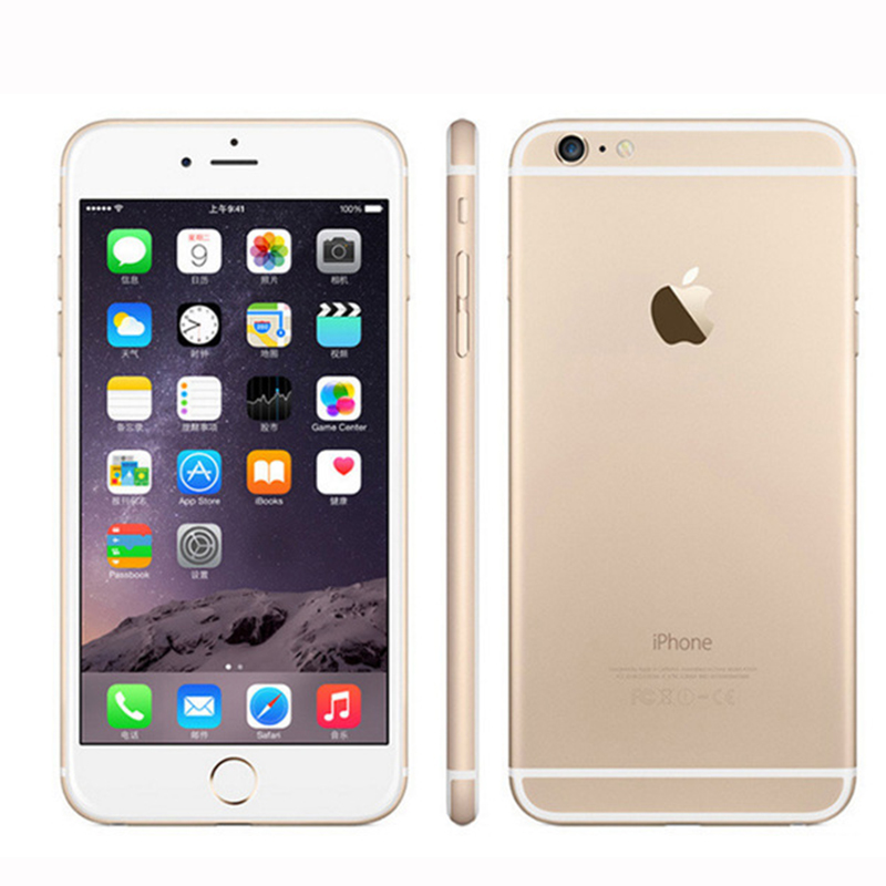 "Image 3 - Unlocked Original Apple iphone 6 Plus SmartPhone Wifi Single Sim Dual Core 16G/64/128GB ROM IOS 8MP Video LTE Fingerprint 5.5""-in Cellphones from Cellphones & Telecommunications"